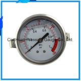 振動証拠およびオイルの満たされた圧力計