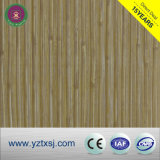 Qualité en bois couleur prix d'usine PVC PVC, panneau mural