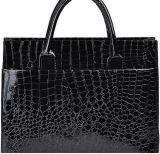 Handbag方法ワニの穀物の女性ショルダー・バッグのトートバック