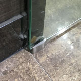 シャワー室のステンレス鋼のガラスドアの適切なガラスクランプ(振子)