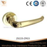 内部木のドアハンドル亜鉛合金のドアのレバーロックのハンドル(Z6216-ZR26)
