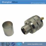 Ficha RF UHF (SL16) plugue macho reto Frise (UHF(SL16)-j-C-7, -3, -5, -4) (4 tipos)