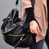 새로운 여가 PU 여자 어깨에 매는 가방 핸드백 Crossbody 끈달린 가방