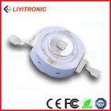 1W 350mA 40milチップ60/90/120度515-525nm 80-90lm緑の高い発電LEDのダイオード