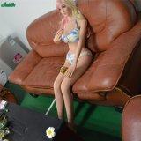 165cm junges Mädchen-kleine Brust TPE-realistische Silikon-Geschlechts-Puppe