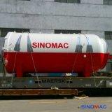 2850X5000mm Sinomac volle Automatisierungs-Glasautoklav nach Ecuador