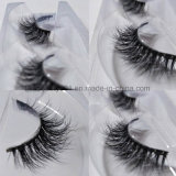 Venta caliente rizado natural pestañas 3D Artesanal 100% real el pelo de visón latigazos