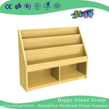L'école en bois rustique salle de classe Toddler Livres étagère (HG-4702)