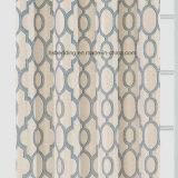 Cortina de ventana casera combinada del telar jacquar de la materia textil del color ligero