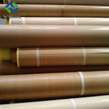 0,3 mm de alta calidad de PTFE Marrón Tejido de fibra de vidrio