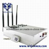 GPSの携帯電話(極度で涼しい版)のための調節可能な高い発電のデスクトップのシグナルの妨害機