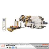 Alimentador servo 3 del rodillo del Nc de la enderezadora de Uncoiler en 1 máquina para la punzonadora (MAC4-1600F)