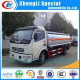 최신 판매 Dongfeng 연료 트럭 6000L 연료 탱크 트럭 연료 유조 트럭