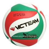 Bille en nylon de volleyball de la taille cinq d'enroulement de qualité