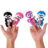 Écureuil de doigt de jouet d'animaux interactifs secs d'animal familier/licorne/paresse/écureuil électroniques bébé de panda pour des gosses d'enfants