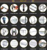 Mensola d'attaccatura della cremagliera di visualizzazione della polvere del metallo bianco del rivestimento (CJ0003)