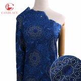 Nuovo tessuto svizzero del merletto del voile del cotone di Candlace per il vestito
