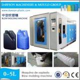 Station de double flacons PE Automatique Machine de moulage par soufflage