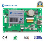 module du TFT LCD 4.3 '' 480*272 avec l'éclat du contact Screen+High de Rtp/P-Cap