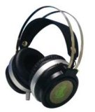 Jogos estéreo com fio 7.1 Virtual Fone de ouvido com microfone
