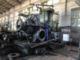 Dieselmotor-aufgeteilter Kasten-zentrifugale Wasser-Entwässerung-Pumpe