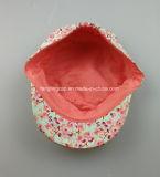 Sombrero de los militares de la lona de la impresión floral