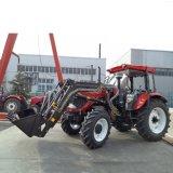 Trattore agricolo eccellente con l'iso, certificato di qualità Dq1004 100HP 4WD del Ce da vendere
