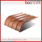 Buntes galvanisiertes gewölbtes Stahlblech mit Ral Farbe