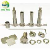 CNCによって機械で造られるステンレス鋼およびチタニウムの合せ釘ピンおよびシャフト
