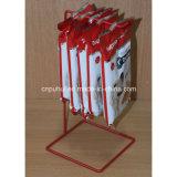 Metallfußboden-stehende Biskuit-Bildschirmanzeige-Zahnstange (PHY1064F)