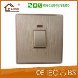 壁は電気4人の一団一方通行の対面スイッチを切替える
