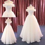 Personnaliser réel outre des robes de mariage nuptiales de robe de bille d'épaule 2018