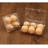 Supermarkt-freie Kleinblasen-Plastikkasten für Ei-Rahmen Belüftung-Ei-Tellersegment