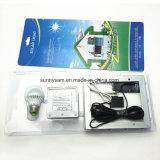 3W lumière d'ampoule solaire à la maison économiseuse d'énergie légère solaire à télécommande de la tente campante DEL
