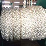 Multi umsponnenes Seil des Durchmesser-5 Zoll-40mm 323kn 8 des Strang-pp. für Verkauf