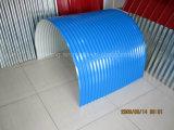 上塗を施してある波形PPGIの鋼鉄屋根ふきシートを着色しなさい