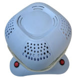 淡いブルーのいそぎんちゃくカバー水まきの空気清浄器