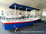Fabricantes dos barcos do Panga do barco de passageiro da fibra de vidro de Liya 19feet