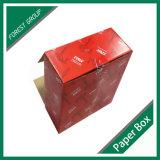 対応Fscが付いているサンプルが付いているOEMのロゴの印刷のカスタム赤いボックス
