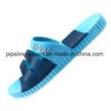 サンダルのスライドのルーサイトのFootbedのカスタムゼリーは女性透過PVCスリッパに蹄鉄を打つ