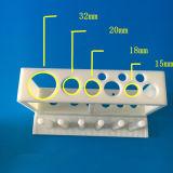 プラスチックの実験室試験の管ラック