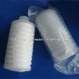 Cartucho de filtro plisado PP/PVDF/PTFE/Pes/Nylon/N66 de la tarifa del micrón para el uso médico