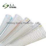 Fil d'acier en spirale en PVC flexible avec la meilleure qualité