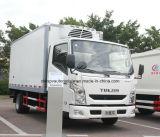 Toneladas de Van Truck 4X2 de Yuejin Refrigerated 5 refrigeraron el furgón