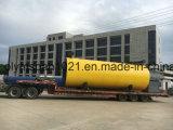 caldera de gas horizontal del petróleo de 5000000kal/H Wns con la hornilla de Riello