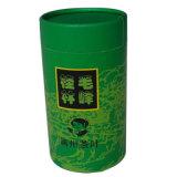 Rectángulo de encargo del cilindro de la cartulina del OEM para el embalaje del té