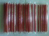 Paille en plastique de Straigh de pellicule rigide individuelle avec le premier dièse