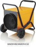Промышленный подогреватель вентилятора IP24 с трубопроводом с силовым кабелем 1.5m резиновый