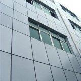 Revestimiento de polvo de la arquitectura de alta resistencia Anti-Seismic el panel de metal para la decoración mural interior/exterior