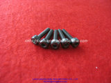 Vite di ceramica del filetto di Zirconia esagonale nero di precisione